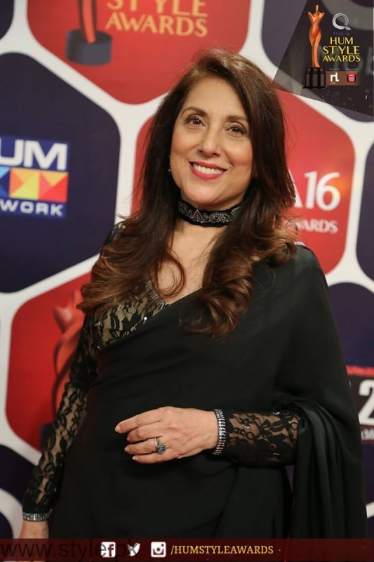 Celebrities at Qmobile HUM Style Awards 2016 (25)