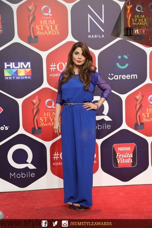 Celebrities at Qmobile HUM Style Awards 2016 (27)