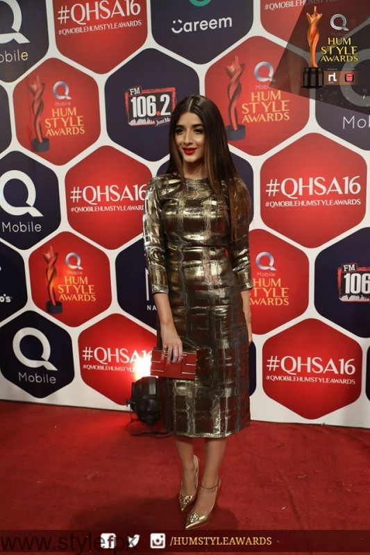 Celebrities at Qmobile HUM Style Awards 2016 (30)