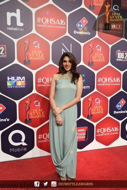 Celebrities at Qmobile HUM Style Awards 2016 (33)