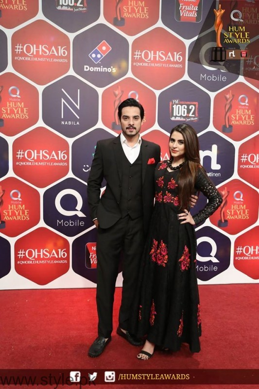 Celebrities at Qmobile HUM Style Awards 2016 (45)