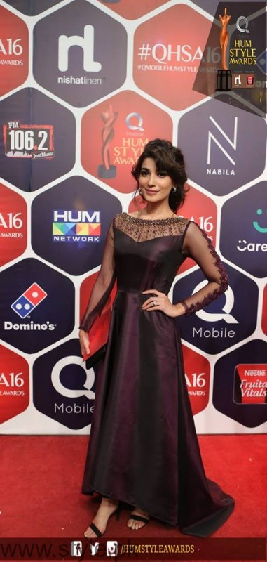 Celebrities at Qmobile HUM Style Awards 2016 (7)