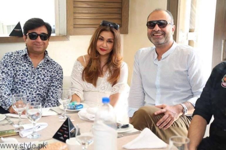 Deepak Perwani Fashion Pakistan Week Brunch