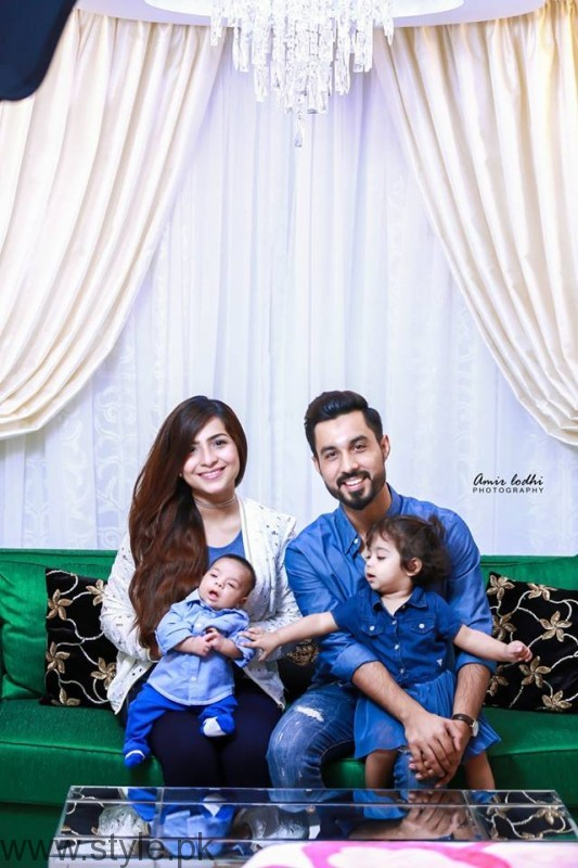 Dua Malik & Sohail Haider with Baby Ali Haider and Ziyara