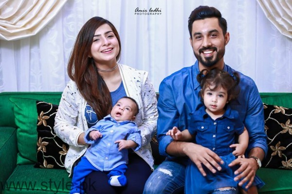 Dua Malik and Sohail Haider Family Picture
