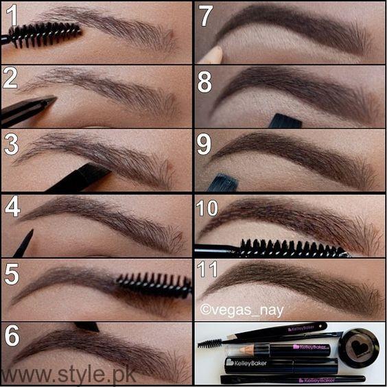Eyebrow shaping tips000
