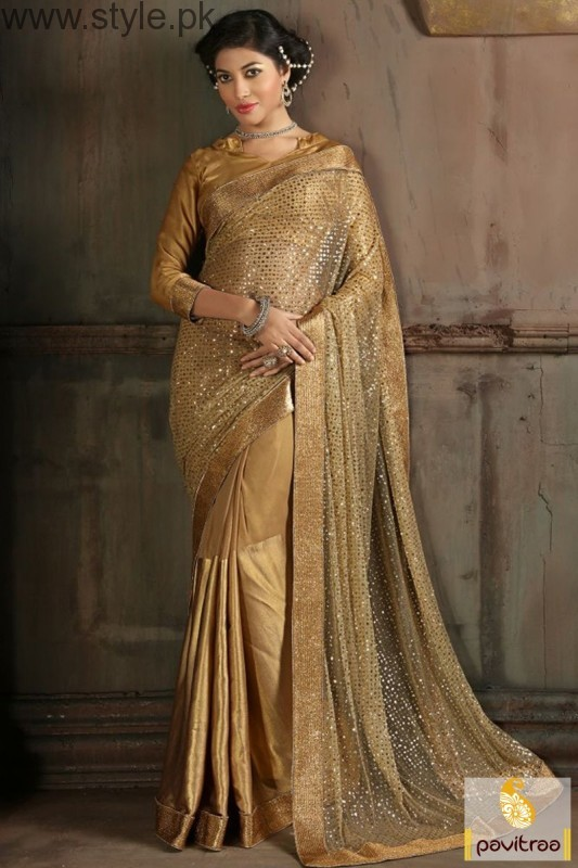 Golden Saree Collection (10)