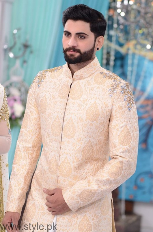 Good Morning Pakistan Sherwani For Men