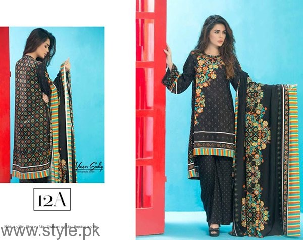 Ittehad Textiles Linen Dresses 2016 For Women0013