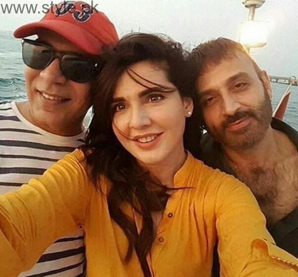 Mahnoor Baloch and Faisal Rehman In Dubai