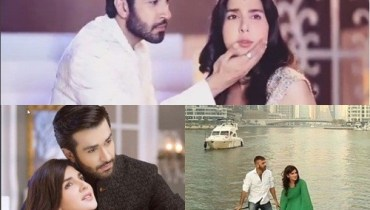 See Mahnoor Baloch on the set of her upcoming drama 'Khoobsurat'