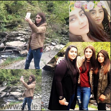 Maya Ali's pictures from Scotland Tour (9)
