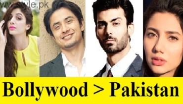 Pakistani Celebrities Vs India