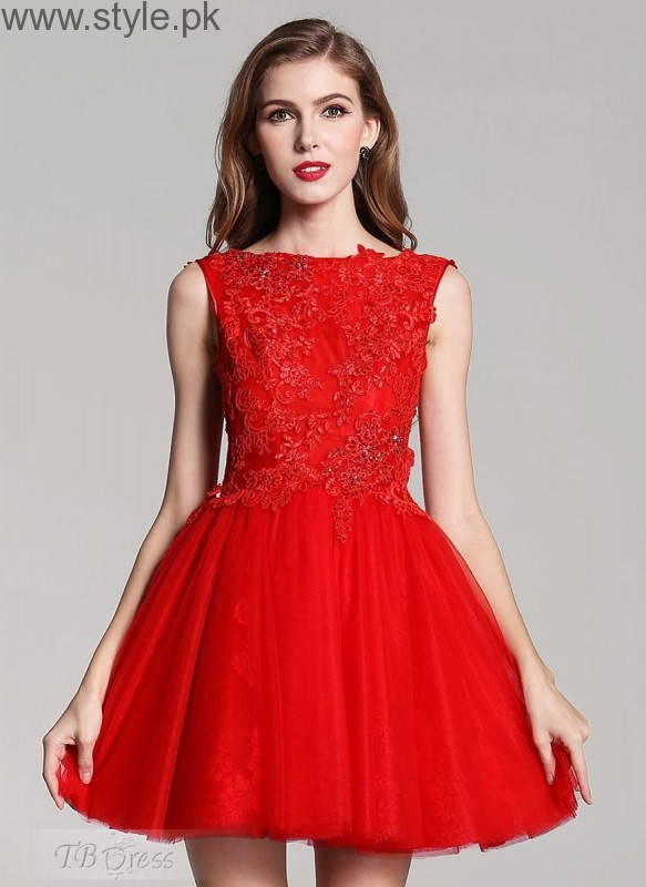 Red Party Wear Dresses for Teenagers (11)