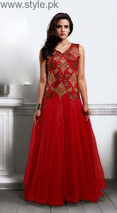 Red Party Wear Dresses for Teenagers (12)