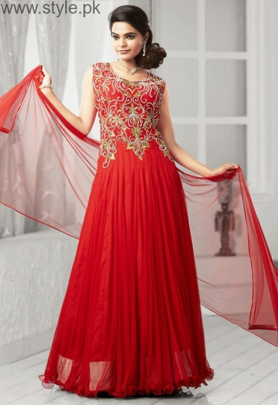 Red Party Wear Dresses for Teenagers (2)