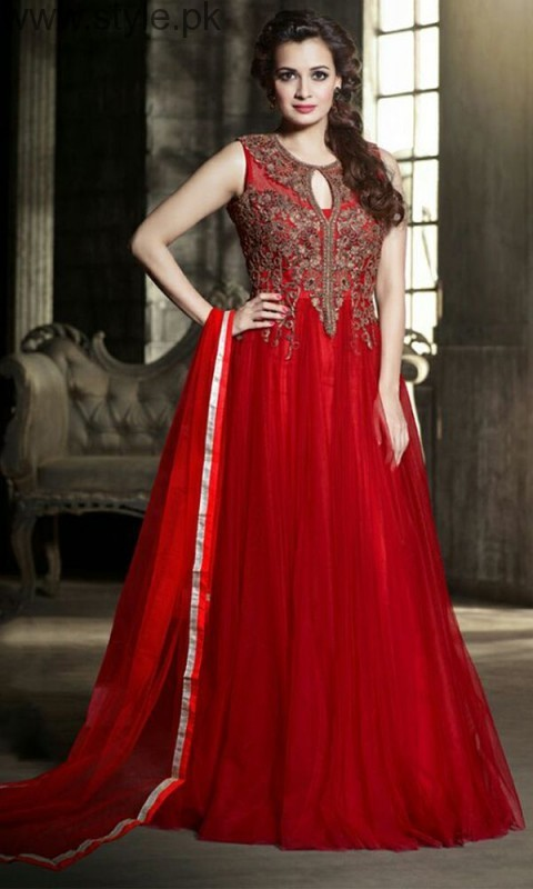 Red Party Wear Dresses for Teenagers (4)