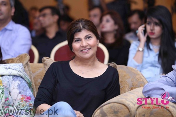 Rubina Ashraf at Media meet held for Lahore se Aagey