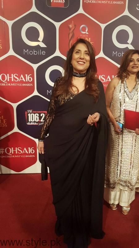 Sameena Pirzada Best Styled Celebrity Hum Style Awards