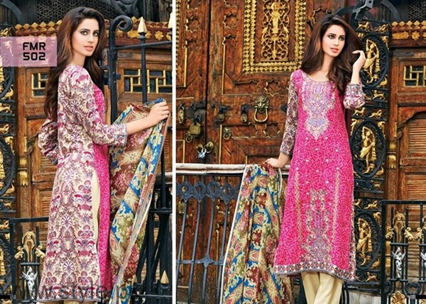 Shaista Cloth Winter Dresses 2016-2017 For Women007