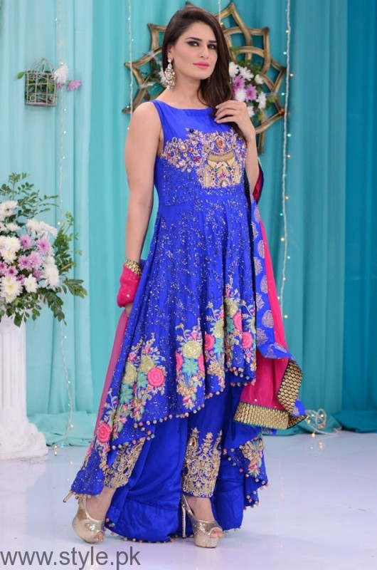 Trendy Formal Dresses in Good Morning Pakistan Show