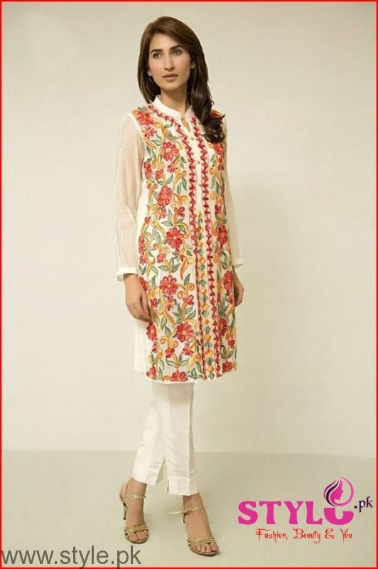 corporate look with a simple kurta fashion trends