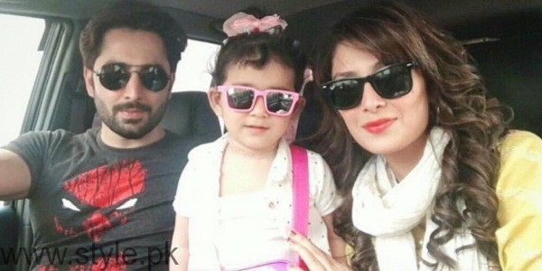 Ayeza Khan Danish Taimoor Hoorain Taimoor Photo