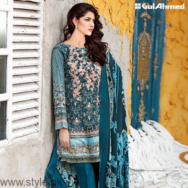 Gul Ahmed Winter Dresses 2016-2017 Volume II For Women007