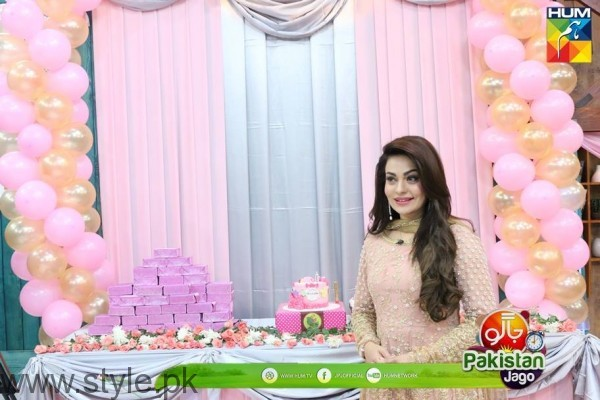 HUM TV celebrated birth of Sanam Jung's baby girl (3)