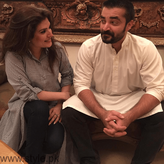 Hamza Ali Abbasi and Resham