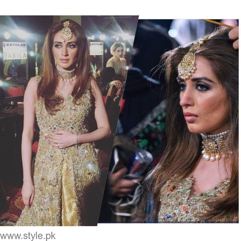 Iman Ali - Bridal Couture Week 2016 Day 1