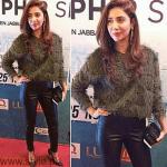Mahira Khan At Dobara Phir Se Karachi Premiere