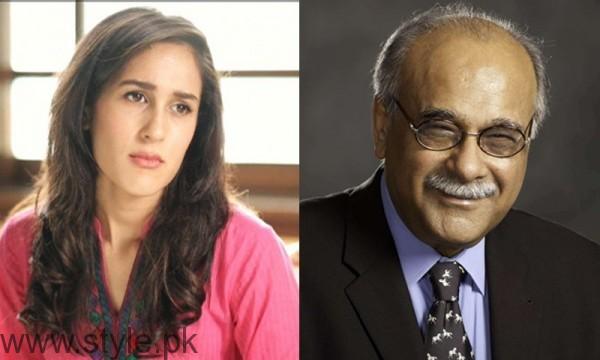 Meera Sethi and Najam Sethi