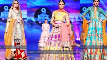 See Mehndi Dresses at Bridal Couture Week 2016