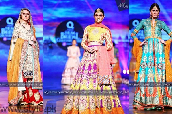 See Mehndi Dresses at Bridal Couture Week 2016