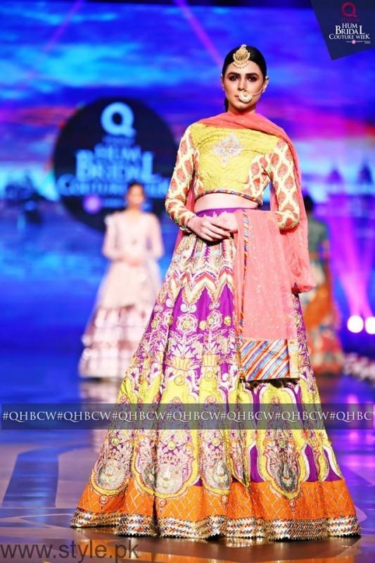 Mehndi Dresses at Bridal Couture Week 2016 (7)