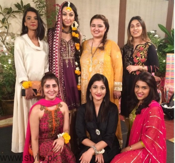 Model Rubya Chaudhry's wedding Pictures  (2)