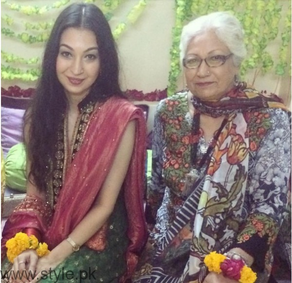 Model Rubya Chaudhry's wedding Pictures  (7)