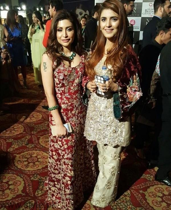 Momina Mustehsan At Bridal Couture Week 2016