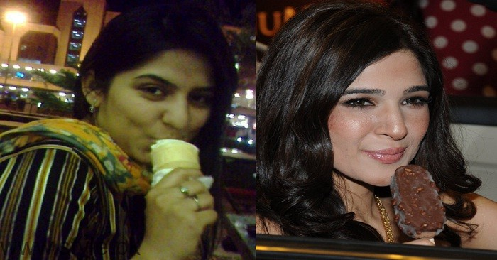 Pakistani actress who have sweet tooth