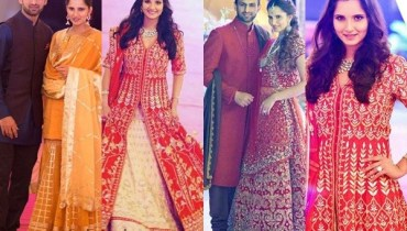 See Sania Mirza's Sister Anam Mirza's Wedding Pictures