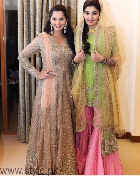 Sania Mirza's sister Anam Mirza's Sangeet Pictures (5)