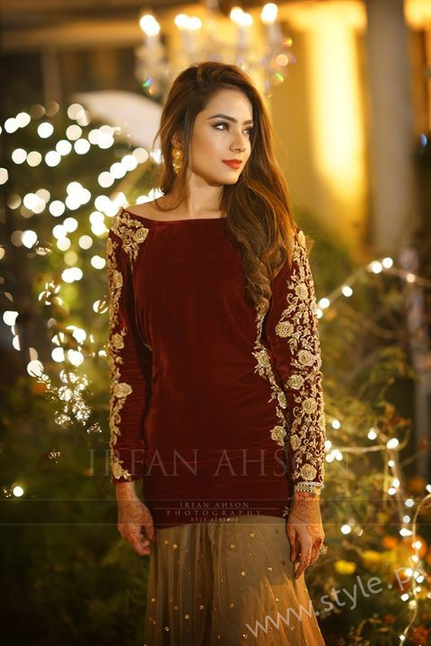 Alyzeh Gabol at Urwa Hocane Qawali Night Function