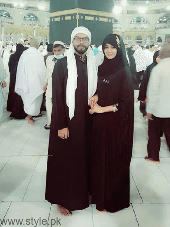 Anum Fayaz Performing Umrah With Husband After Nikah