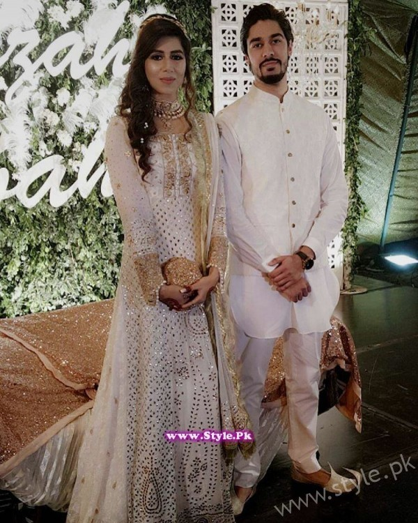 Couple to be Libah Chaudhry and Humza
