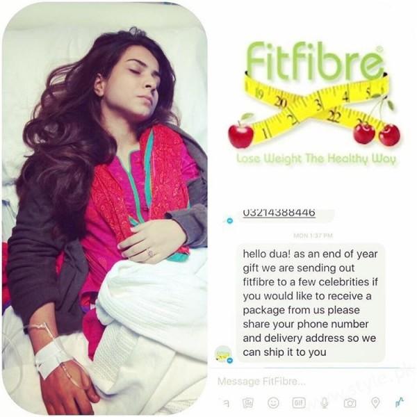 Dua Malik used Weight Loss Product and hospitalized