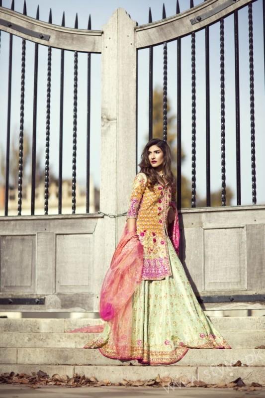 Farah Talib Aziz - The Eternal Empress Bridal Couture - Look 3 (2)