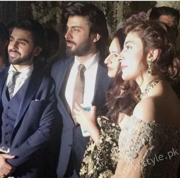 Fawad Khan at Urwa Hocane and Farhan Saeed's Wedding (4)