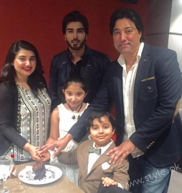 Javeria Saud Daughter Birthday