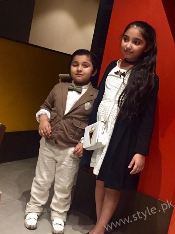 Javeria Saud Daughter Birthday 8